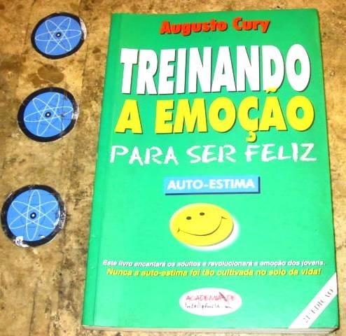 Livro Treinando Emoção Para Ser Feliz - Augusto Cury (2001)