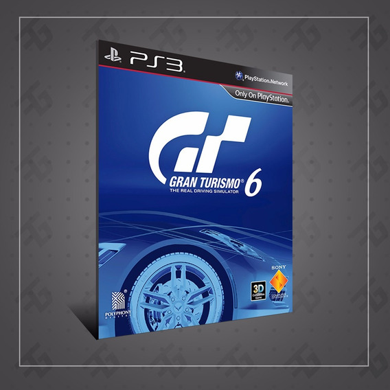 Gran Turismo 6 - Playstation 3 Ps3 - Português