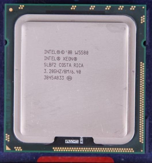 Intel Xeon 3200mhz 3.2 Ghz Lga 1366 Cpu W5580 Slbf2