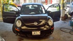 Volkswagen Beetle 2007 Negro, $84,900.00 Financiamiento.!!