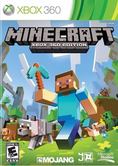 Minecraft Xbox 360 - Mídia Física | Com Garantia Playgorila