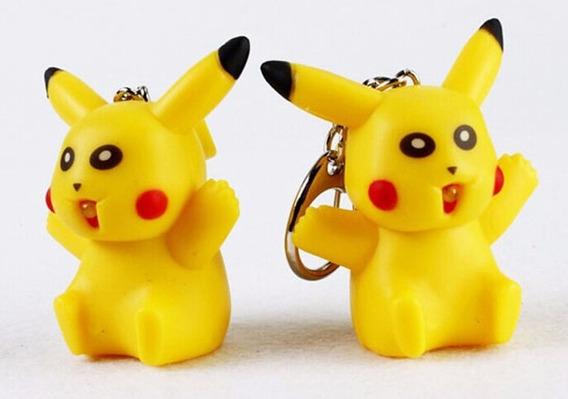 Chaveiro Pikachu Pokemon Som E Led