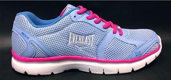 Tenis Everlast Move Azul / Rosa
