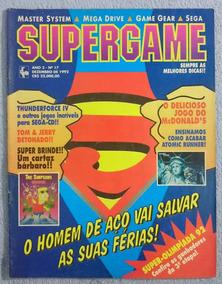 Revista Supergame Nº17 1992 - Raridade!