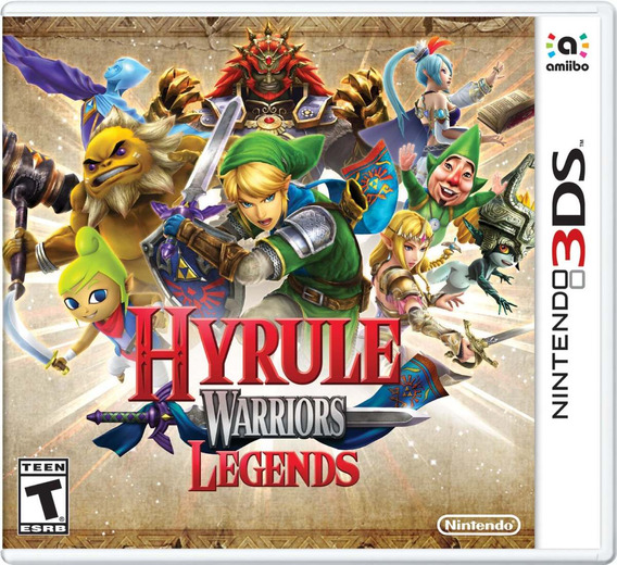 Hyrule Warriors Legends 3ds Mídia Física Lacrado