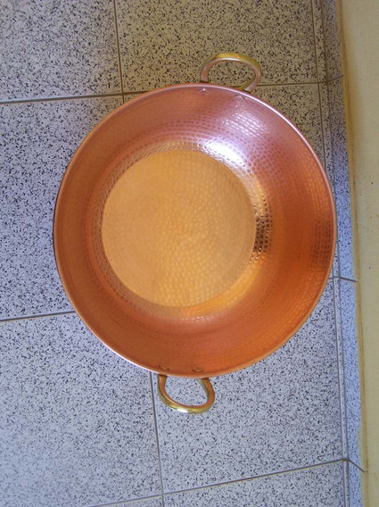 2 Tacho De Cobre 25 L+2 Par Concha M + 1 Tacho 10 Metal Arte