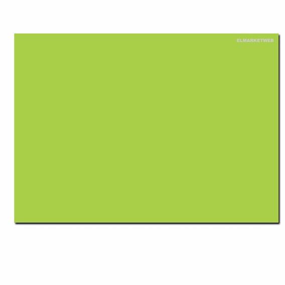 Cartulina Escolar 45 X 63 Pack X 20 Unidades Verde Claro