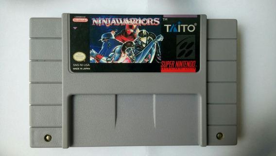 Ninja Warriors Original Super Nintendo