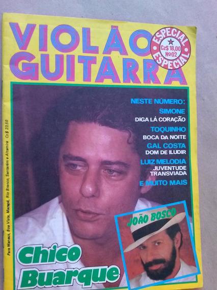 Revista - Violão & Guitarra Especial 2 Chico Buarque