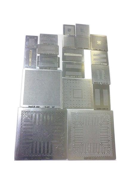 Stencil Calor Direto 0,45 - 19 Peças