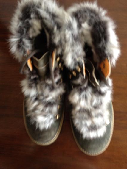 Sapato Bota Original Weinbrenner Tam 39 Numeração Europeia