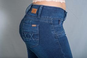 Pantalon De Mezclilla Skinny Para Dama Marca One Eighty