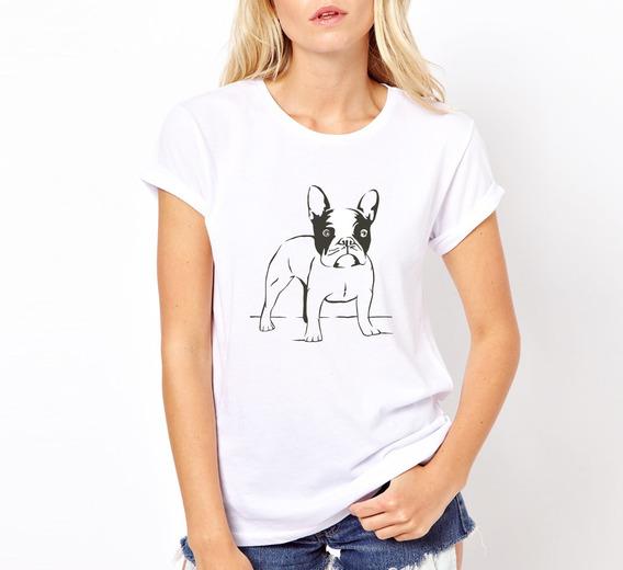 Remera Bulldog - Estampados Con Onda - Diseño Exclusivo