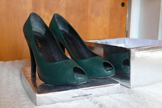 Zapatos Sarkany Verdes Muy Comodos