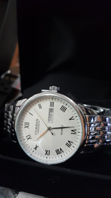 Relógio Curren De Luxo Máquina Japonesa - Calendário