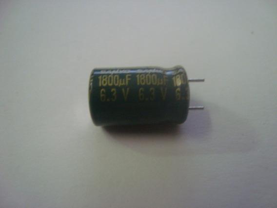 Capacitor Eletrolítico 1800uf X 6,3v - 105ºc