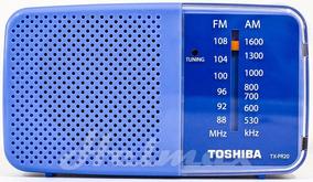 Radio Portatil Toshiba Tx-pr20-am/fm-lindo-lançam.-blue-azul