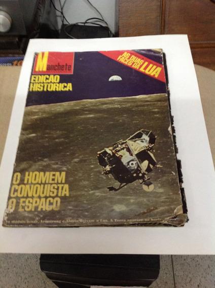 Revista Manchete O Homem Conquista O Espaço
