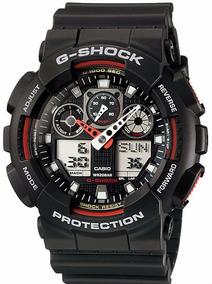 Relógio Casio G-shock Ga-100-1a4dr - Garantia Casio Brasil