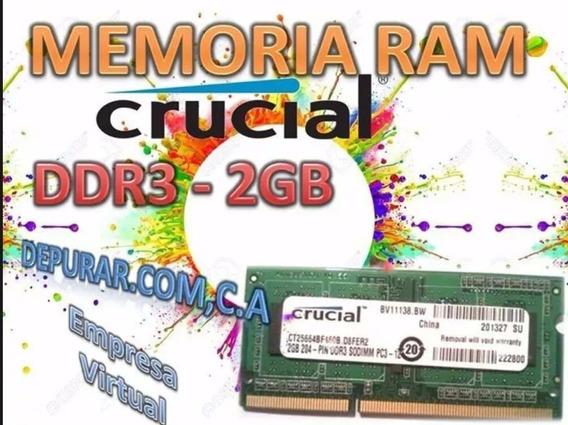 Memoria Ram Ddr3 2gb Para Laptops Y Mini Laptops