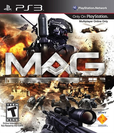 Jogo Mag Playstation 3 Ps3 Fps Pronta Entrega Server Offline