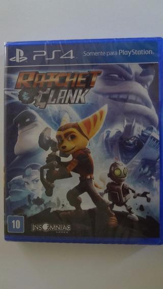 Ratchet & Clank Ps4 - Mídia Física - Novo E Lacrado