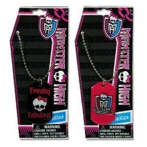 Monster High Dogtag Collar Del Metal De 18 1 De 2 Estilos S