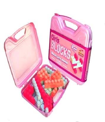 Brinquedo Educativo Pedagógico - Bloco De Montar - Girls