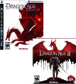 Dragon Age Origins + Dragon Age 2 - Ps3 - Psn - Original