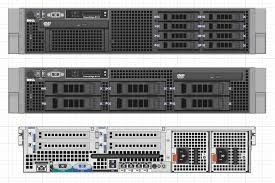 Servidor Dell R710 2x Six Core/128gb Ram/ 4x300gb Sas 10k