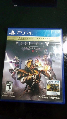 Destiny The Taken King Ps4 (con Codigo)