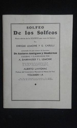 Solfeo De Los Solfeos Enrique Lemoine Y G. Carulli