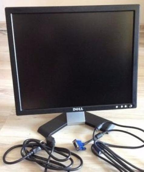 Monitor Dell E178fpc Lcd 17p C/ Pequeno Arranhado Na Tela!