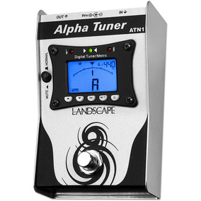 Pedal Afinador Guitarra Violao Landscape Alpha Tuner Atn1