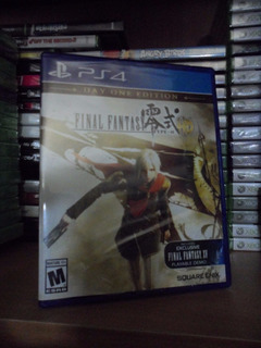 Final Fantasy Type-0 Hd - Nuevo Y Sellado - Ps4