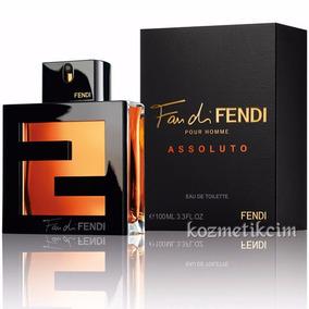 Perfume Fan Fendi Pour Homme Assoluto 100ml No Brasil!