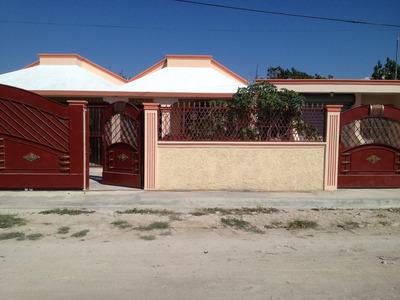 Casa Con Techo De Cemento,area Para Negocio Incluida 3 Habit