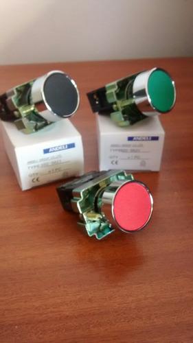 Pulsador Verde 22 Mm Mod Xb2 Multicolores