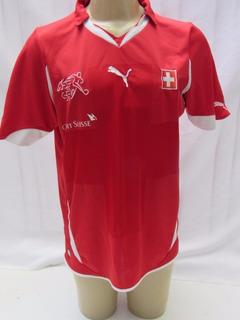 Camisa De Futebol Da Seleção Da Suíça Puma - Suissa - Fm06