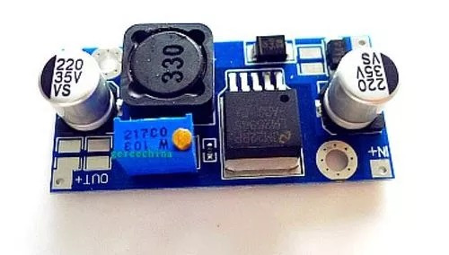 Convertidor Reductor De Salida Lm2596 Dc-dc Buck