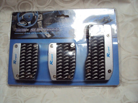 Tunning Pedais Carro Pedaleira Kit Conjunto Esportivo
