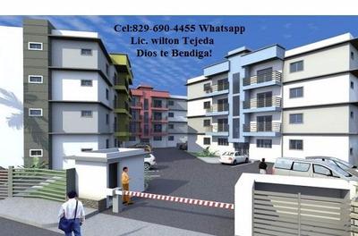 Apartamentos Hermosos En Residencial Liebe I, Aparte Con 50