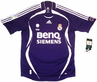 Camisa Real Madri Temporada 2006-07,g,marca adidas !!!