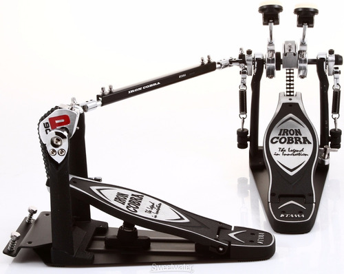 Imagen 1 de 5 de Pedal De Bombo Tama Doble Hp900pswn Power Glade Iron Cobra
