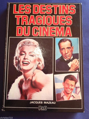 Destins Tragiques Cine Hollywood Marilyn Monroe Valentino