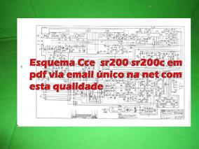 Esquema Receiver Cce Sr200 Sr 200 Sr 200c Sr200c Em Pdf