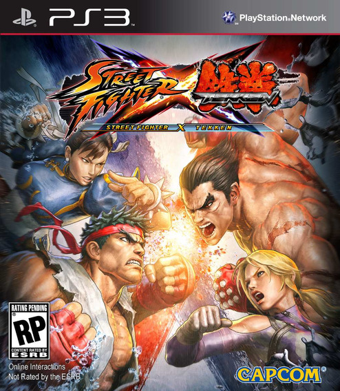Street Fighter Vs Tekken Ps3 Psn Promoção Envio Rapido