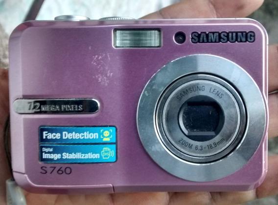 Fotográfica Digital Samsung S760 7.2mp