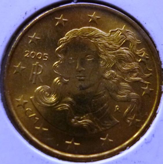 Italia Moneda Rostro De Venus 10 Centavos De Euro 2005