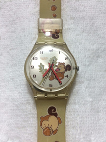 Swatch Squirrel Time